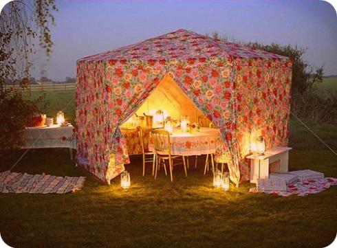 inside tent 5